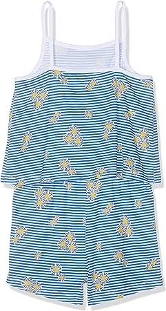 NAME IT Nmfvigga Strap Suit H Pantalones de Peto para Niñas