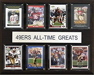 product image for NFL San Francisco 49ers All-Time Greats Plaque