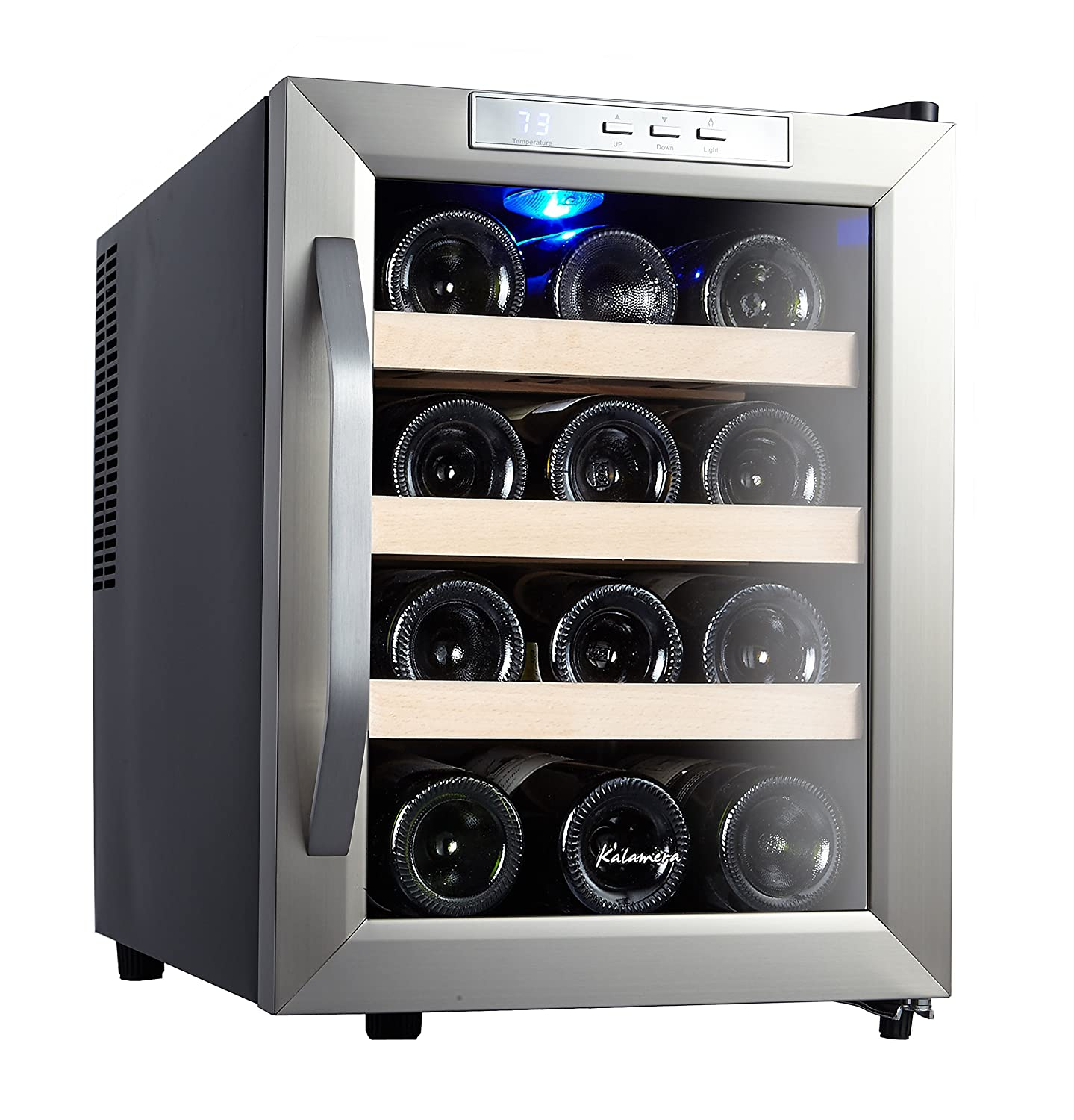 thermoelectric wine cooler countertop review bottle main nutrichef