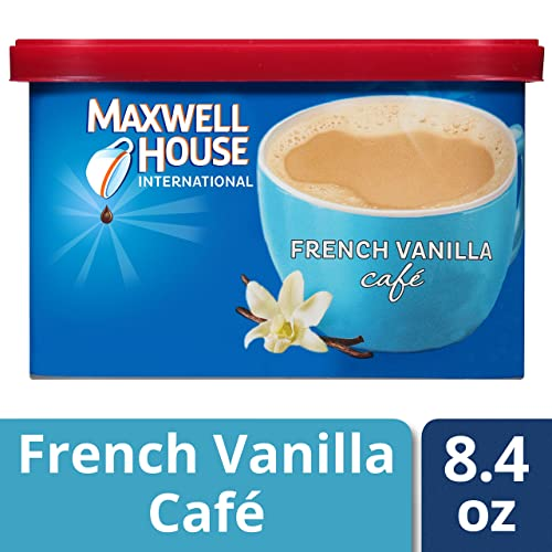 Maxwell House International Cafe Flavored Instant Coffee