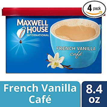 Amazon.com : Maxwell House International Cafe Flavored Instant ...