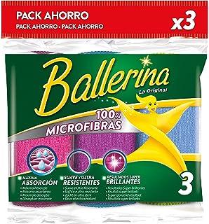 Ballerina Bayeta Microfibras - 3 Unidades