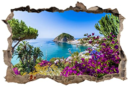 Stickers 3D Trompe l/'oeil Cascades réf 23744 23744 Art déco Stickers