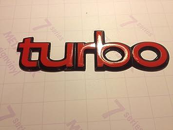2 x Restauración adhesivo para Saab 900 Turbo Badge: Amazon.es: Coche y moto