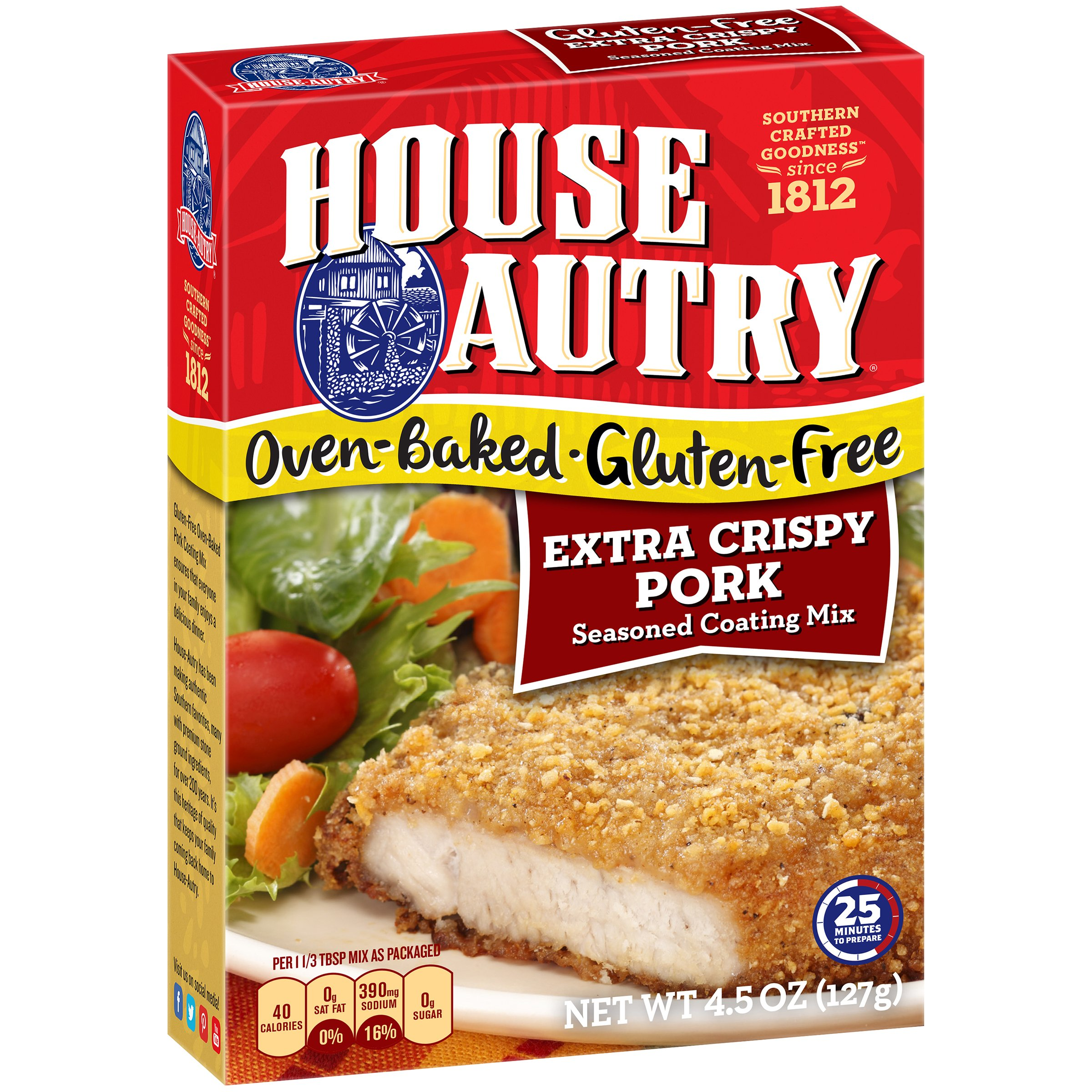 House-Autry Gluten-Free Extra Crispy Pork Breader (8 PACK) by House-Autry (Image #1)