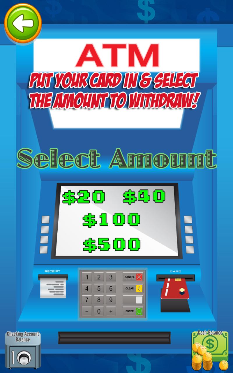 Atm Cash Amp Money Simulator Kids Prize Money Machine