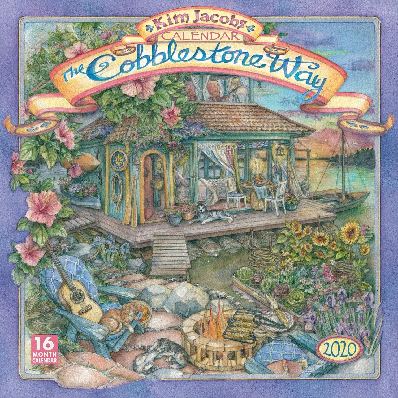 The Cobblestone Way 2020 Calendar: Jacobs, Kim: 9781531907815