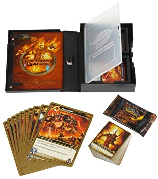 Upper Deck 220436 The World of Warcraft: Geschmolzener Kern Raid Deck - Juego de cartas