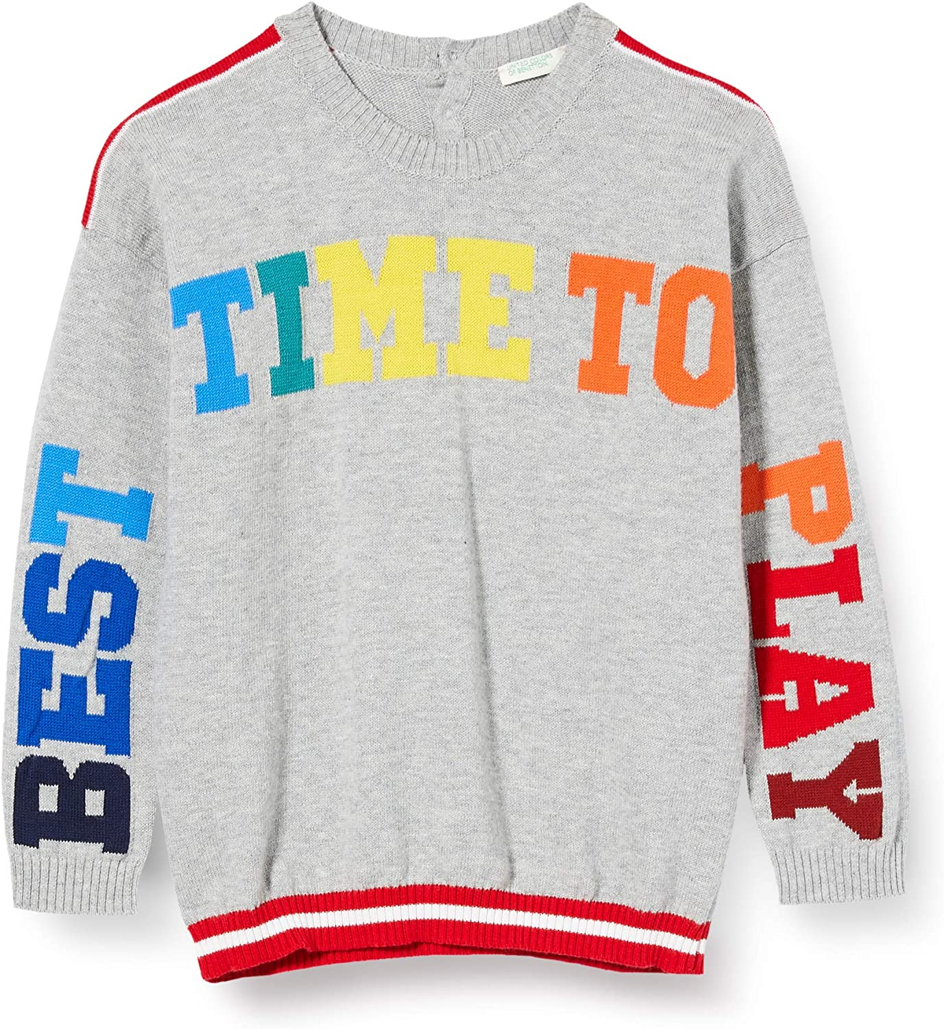 United Colors of Benetton Baby Boys Maglia G//C M//L Sports Hoodie