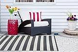 DII CAMZ38836 Reversible Indoor Woven Striped