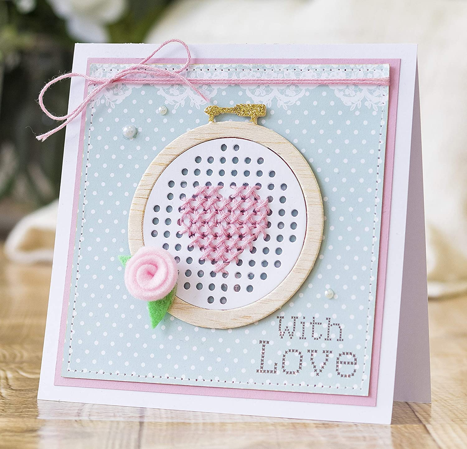 Square Cross Stitch Sew Lovely Crafters Companion