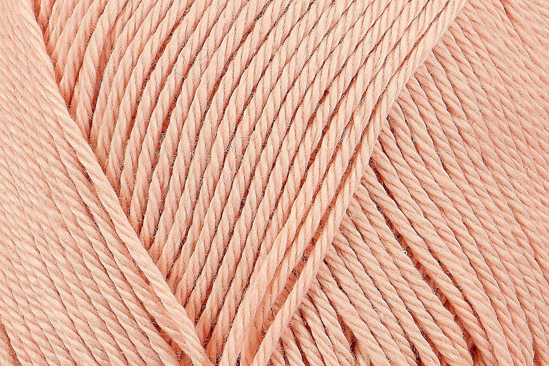 Schachenmayr 9801210-00433 Fil /à tricoter /à la main 100/% coton Rose Dor/é 11,5 x 5,2 x 6 cm