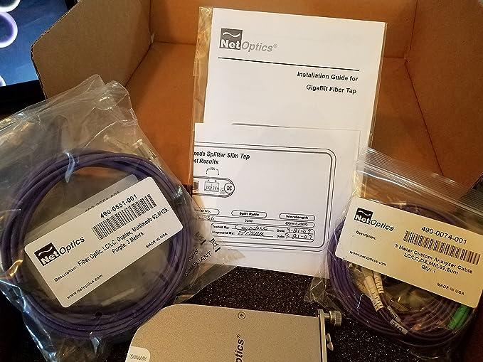 Amazon.com: Net Optics Slim Tap TP-SX5-LCSLM - tap splitter - Gigabit Ethernet - By NETCNA: Computers & Accessories