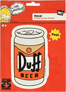 The Simpsons ST SF DB01 Decal (Duff Beer Can)