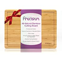 Kitchen Precision Organic Bamboo Cutting Board - Double Sided Australian Designed Charcuterie and Cheese Serving Platter…