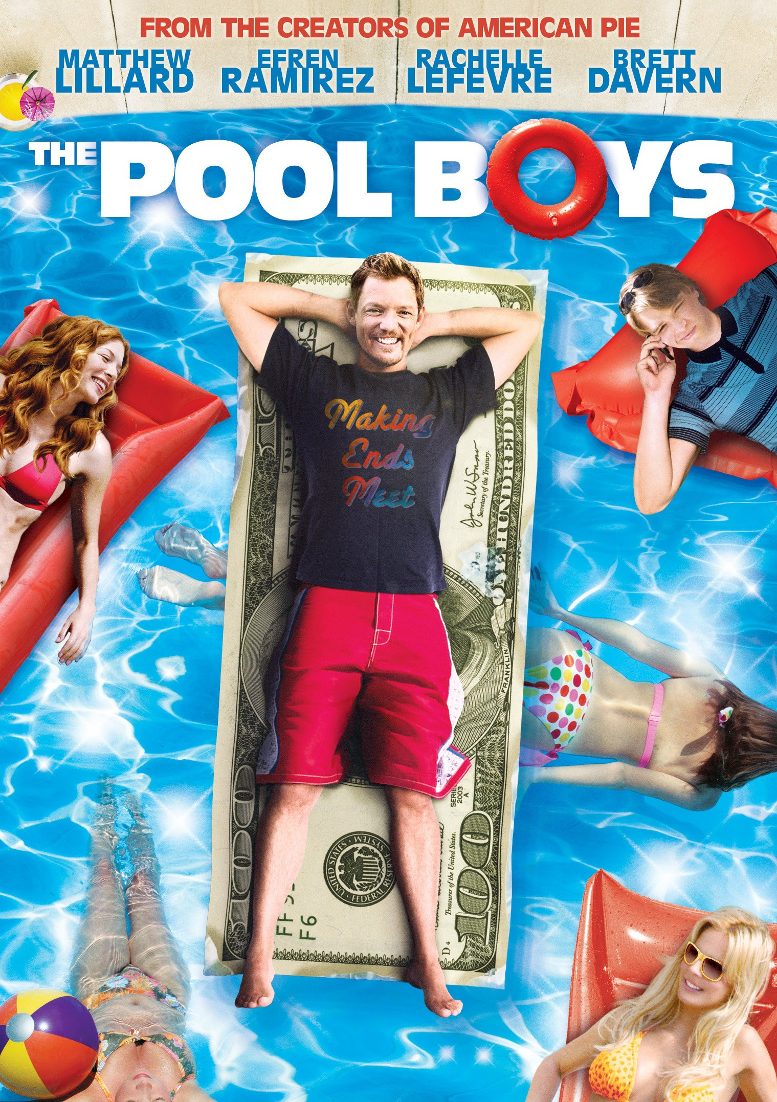 DVD : Matthew Lillard - The Pool Boys (Widescreen, Dolby, AC-3, Subtitled)