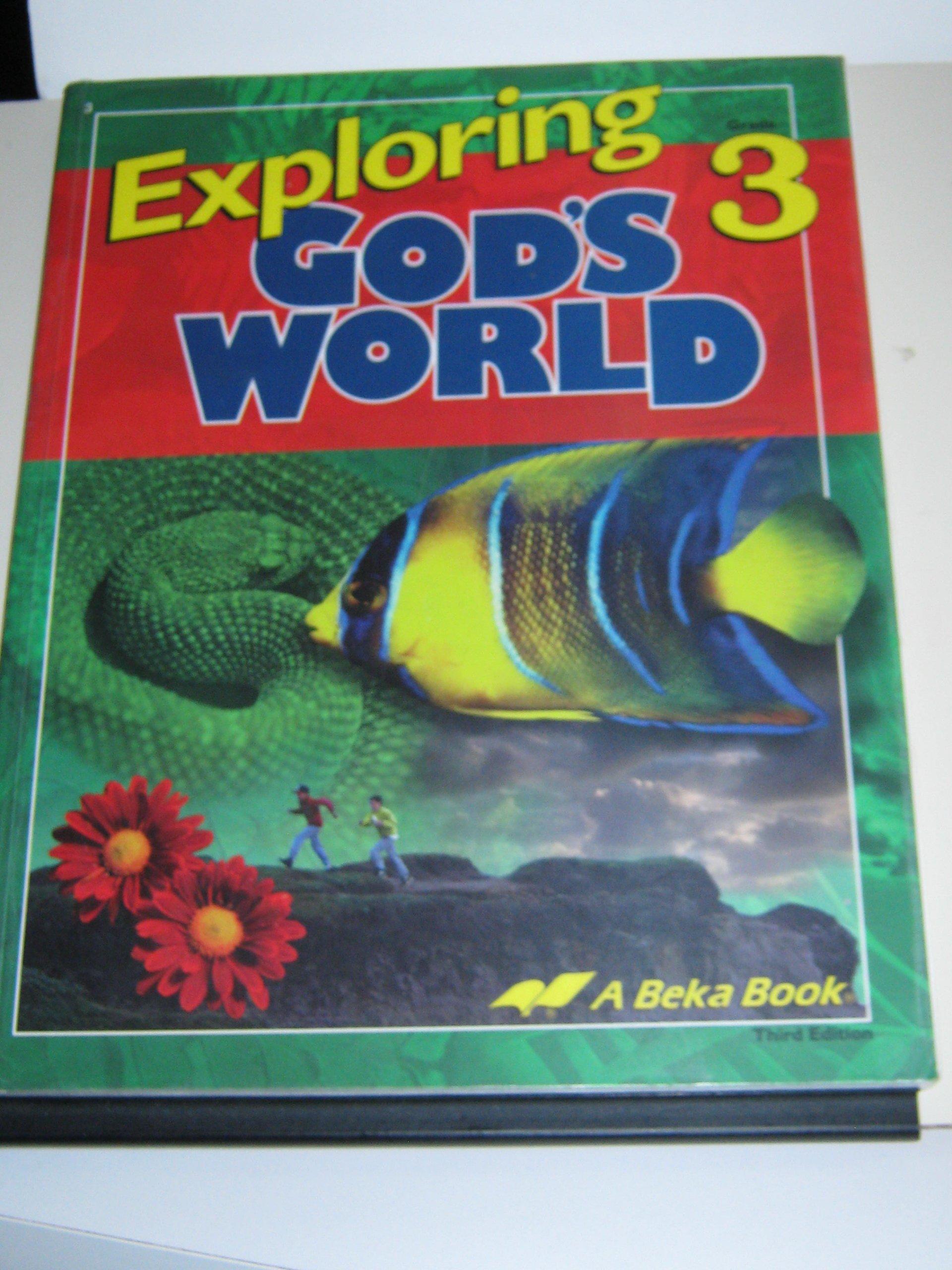 Exploring God/'s World shirt for field trips
