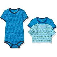 Care Baby - Jungen Kurzarm-Body 3-packs und 6-packs