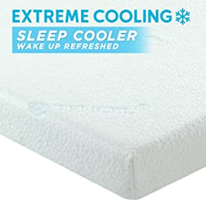 Overstock SELF Editor's Choice Cooling Gel Infused Memory Foam Mattress Topper King