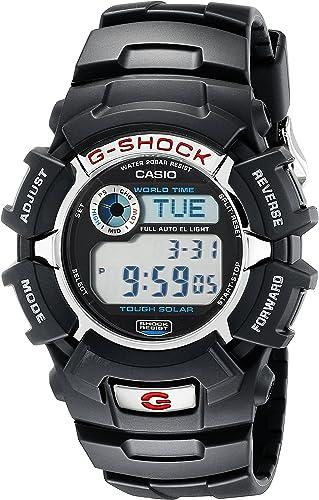 Casio G Shock G2310R 1 Men's Solar Black Resin Sport Watch