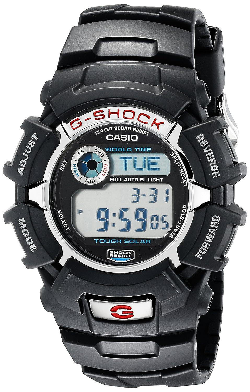 Casio G-Shock G2310R-1 Men s Solar Black Resin Sport Watch
