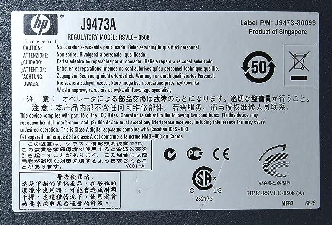 HP Switch HP 3500-48-PoE - Switch de red (100 Mb Latency: Amazon ...