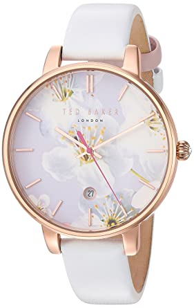 c13e2dd238047e Image Unavailable. Image not available for. Colour  Ted Baker Women s  Analogue Japanese-Quartz Watch ...