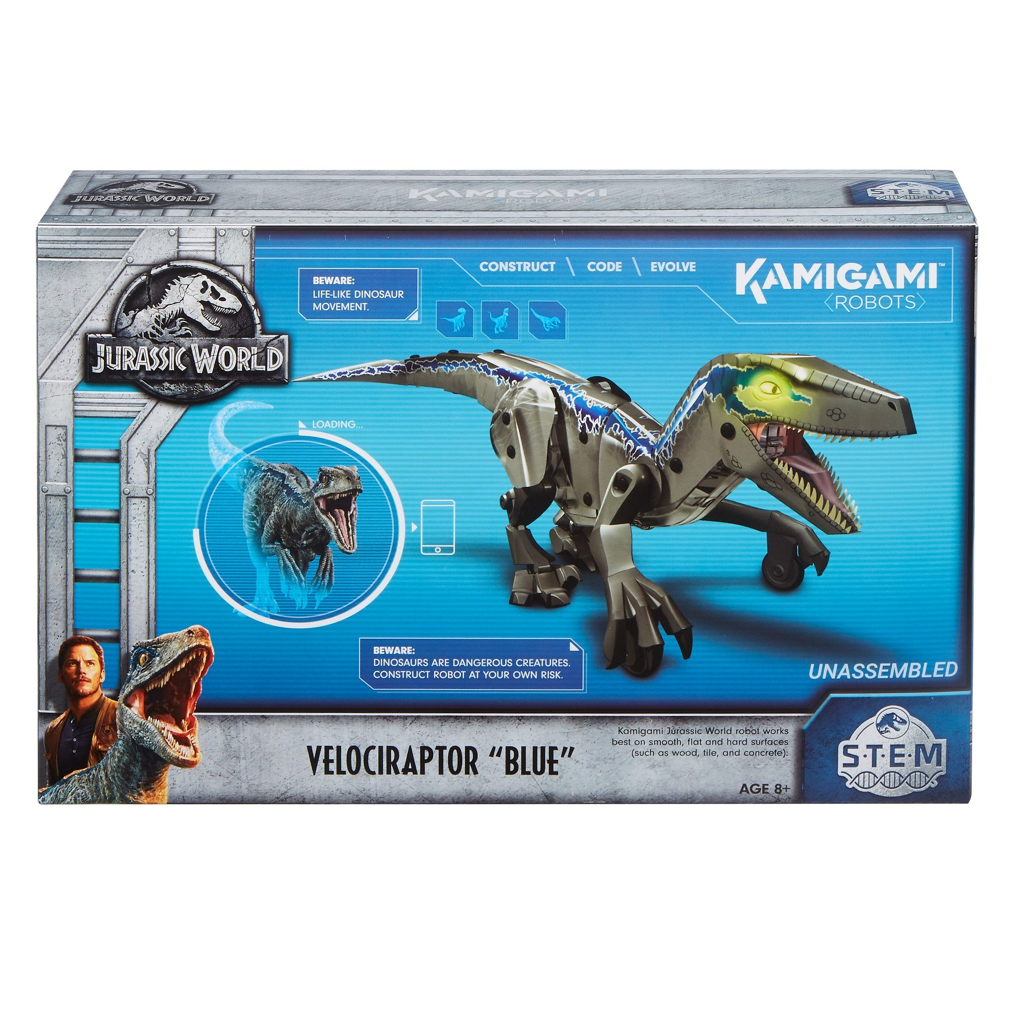 Kamigami Jurassic World Blue Robot by Jurassic World Toys (Image #15)