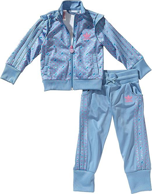 adidas Cinderella firebird - Chándal para niña, tamaño 110 UK ...