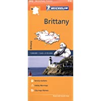 Brittany - Michelin Regional Map 512 (Michelin Regional Maps)