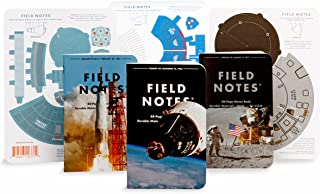 product image for Field Notes: Three Missions Special Edition Graph Grid Memo Books, 3-Pack (3.5x5.5-Inch) Summer 2018