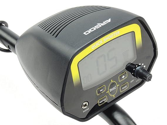 GC de 1032 Quick Shooter Detector de metales con Target ID: Amazon.es: Bricolaje y herramientas
