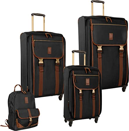 Timberland 4 Piece Soft Side Spinner Luggage Set