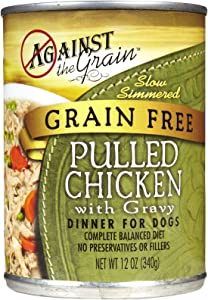 Evangers / Against the Grain Evanger's Against The Grain Hand Pulled Chicken 12/12 oz Food, 1 Count, One Size