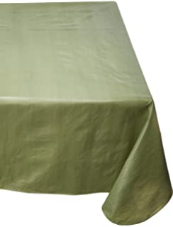 Carnation Home Fashions Vinyl Tablecloth With Polyester Flannel Backing,  52 Inch, By 70