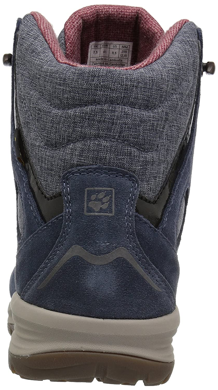Jack Wolfskin Women's Vancouver Boot Texapore Mid W Fashion Boot Vancouver B01MRLSSRO 5.5 D US|Night Blue 8547e9