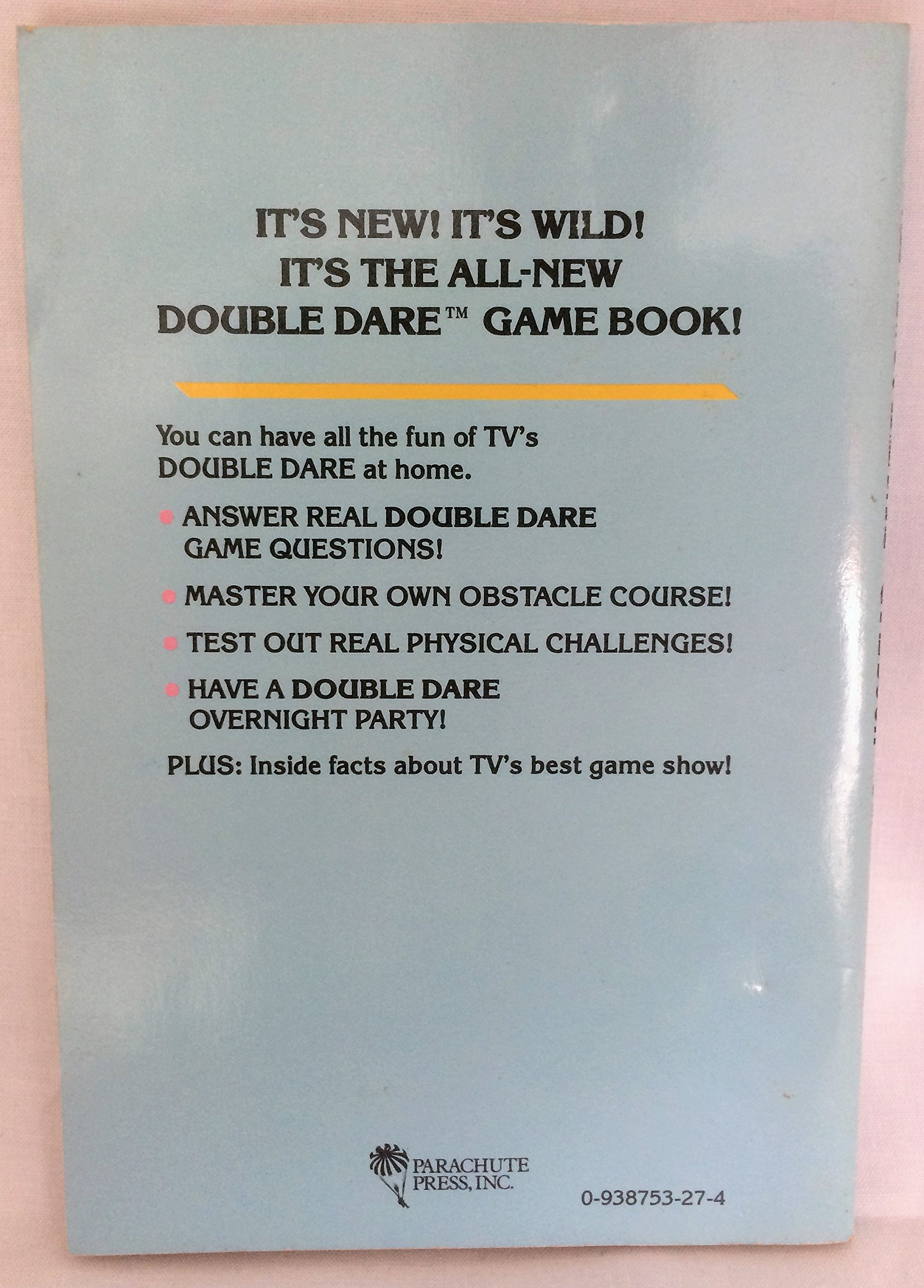 Nickelodeon Double Dare Game Book Nickelodeon 9780938753278