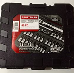 CRAFTSMAN 9-34845 42 piece 1/4 and 3/8-inch Drive Bit and Torx Bit Socket Wrench Set Review