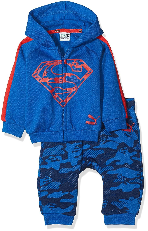 efb46c05a3b89 PUMA Justice League Survêtement à capuche Enfant Noir  Amazon.fr  Sports et  Loisirs