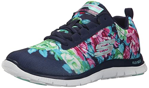 Skechersflex Appeal Wildflowers - Zapatillas Mujer: Skechers: Amazon.es: Zapatos y complementos