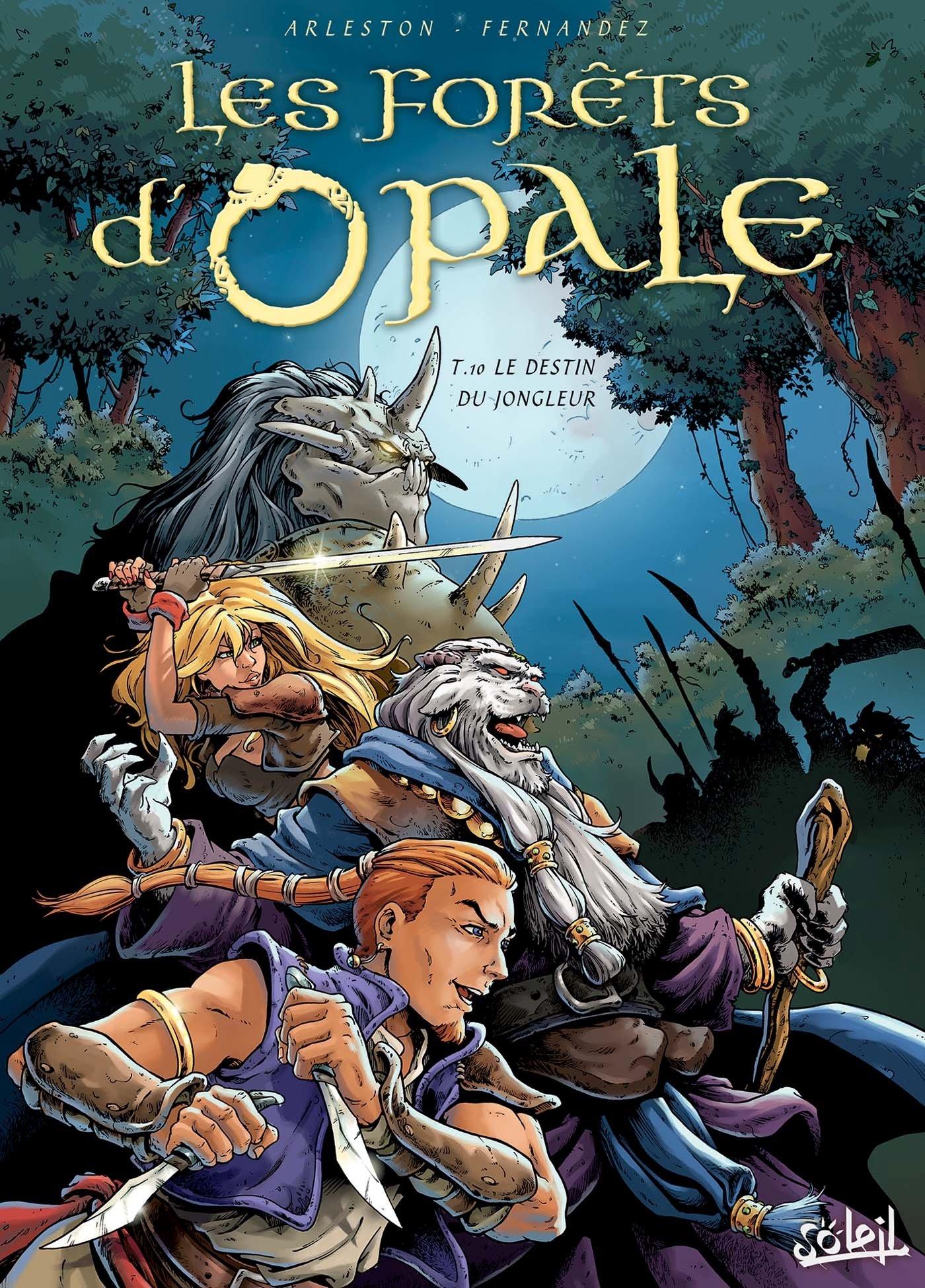 Les Forêts d'Opale (10) : Le destin du jongleur
