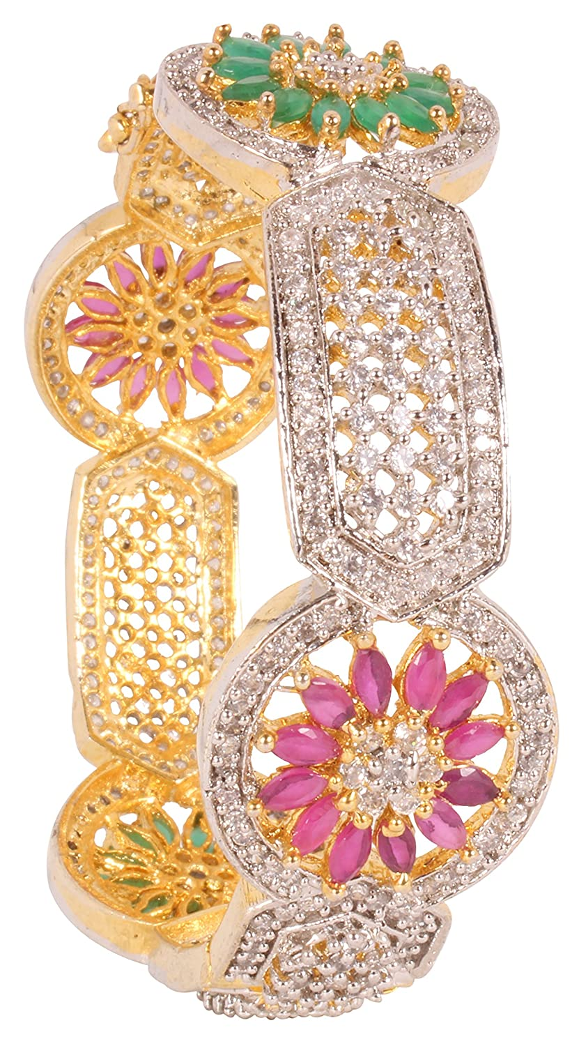 Shiv/_Collection Bollywood Fashion Gold Tone Indian Bangles Ethnic Traditional Jewellery