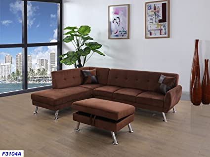 Sensational Amazon Com Beverly Fine Furniture Sh3104A Sectional Sofa Cjindustries Chair Design For Home Cjindustriesco