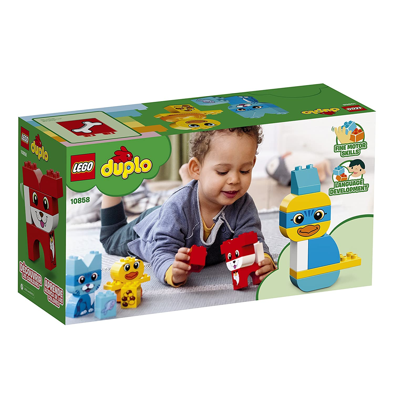 18 Piece 6212842 LEGO DUPLO My First Puzzle Pets 10858 Building Blocks