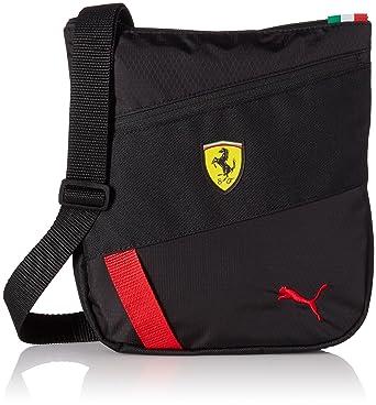 Puma Unisex Ferrari Fanwear Portable Black Messanger Bag  Amazon.in   Clothing   Accessories 63355e2169
