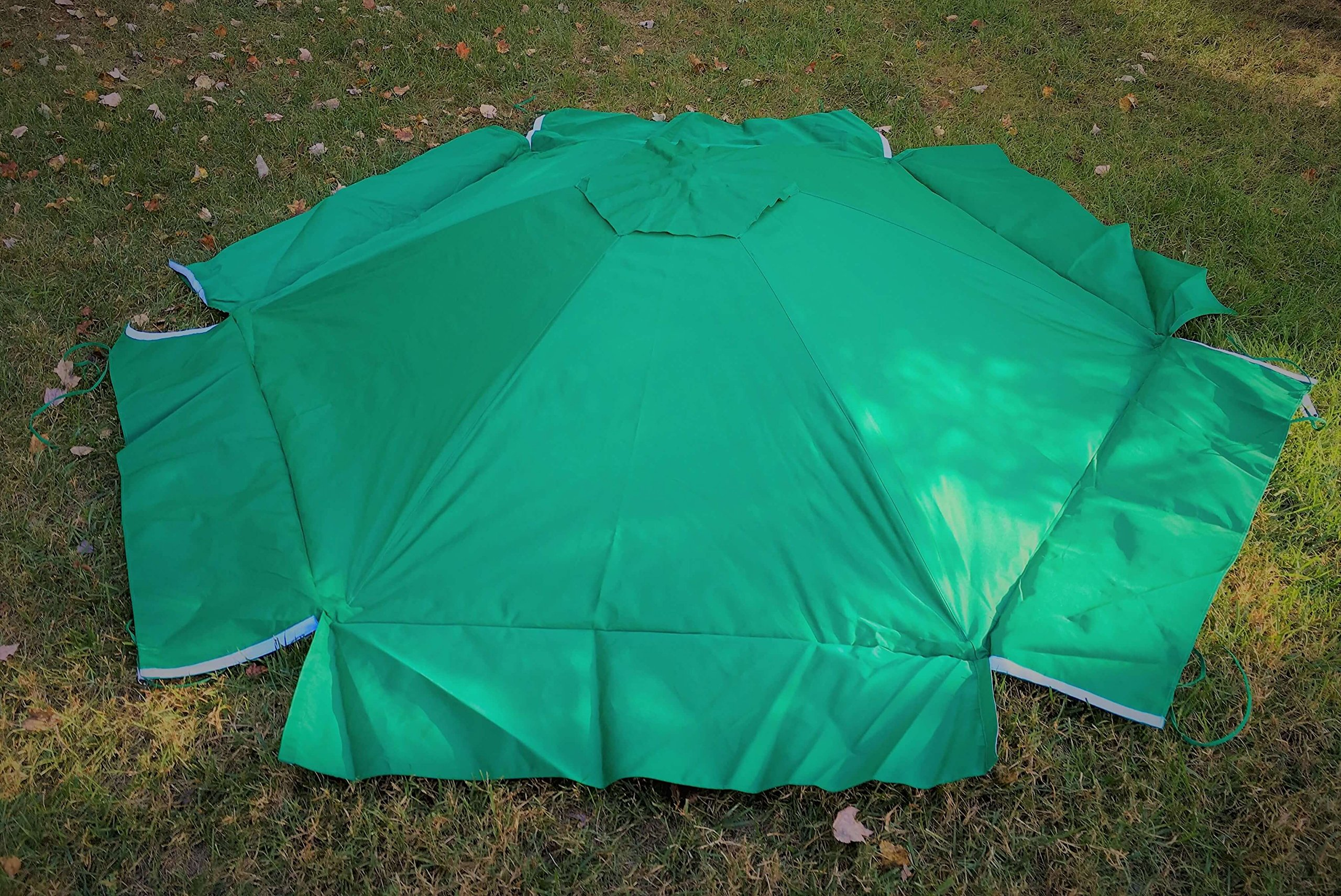 Frame It All 300001508 Hexagonal Collapsible Sandbox Cover, 7' x 8' x 13.5'' by Frame It All (Image #5)