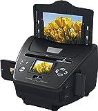 """Rollei PDF-S 250 - Scanners pour diapos, négatifs et photos 5.1 mégapixels, 6,0 cm (2,4"""") écran couleur LTPS LCD - Noir"""
