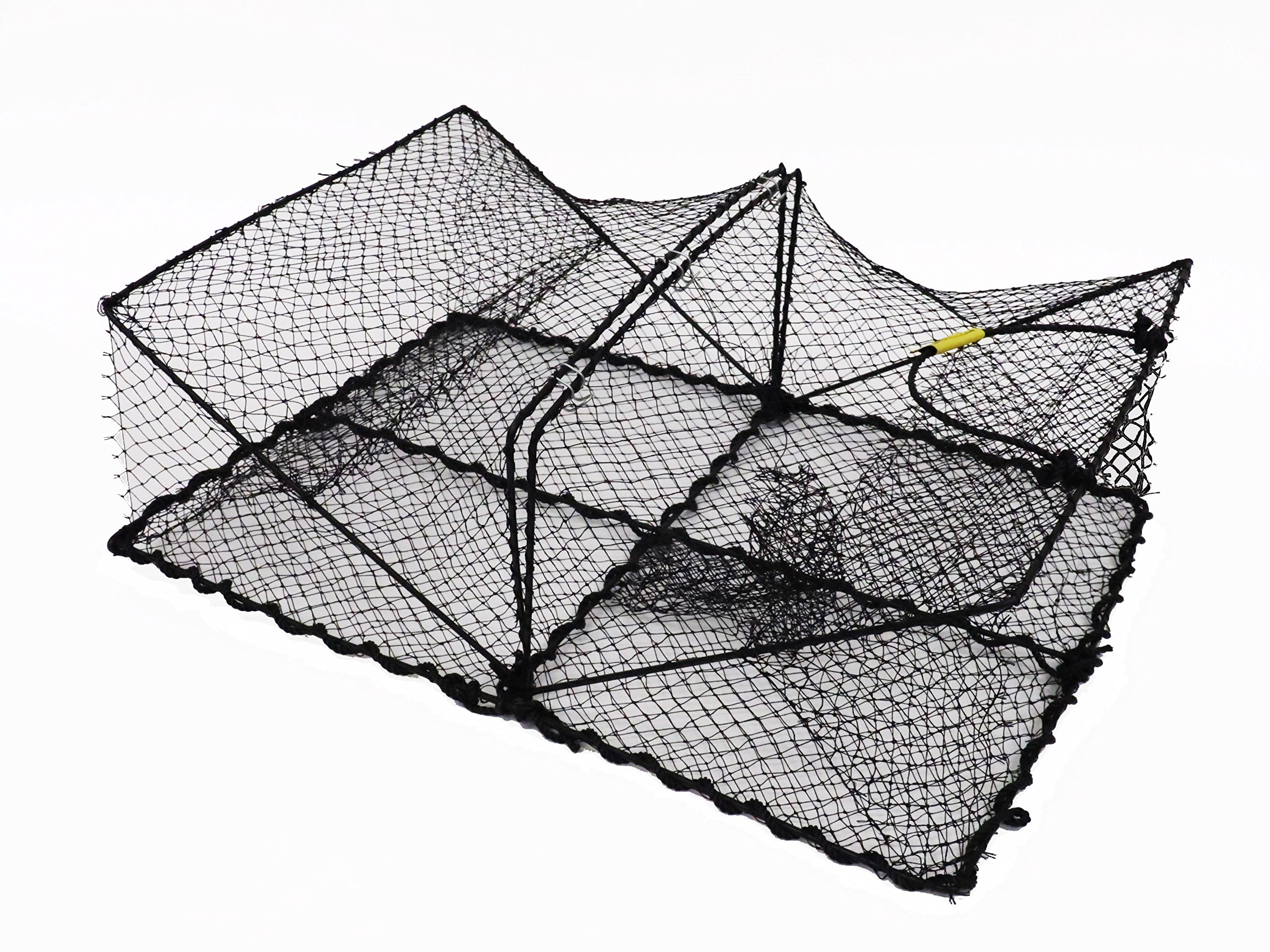 Promar Collapsible Crawfish/Crab Trap 24''x18''x8'' - American Maple Inc TR-101, Fishing Accessories