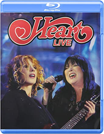Amazon com: Heart: Live [Blu-ray]: Ann Wilson, Nancy Wilson