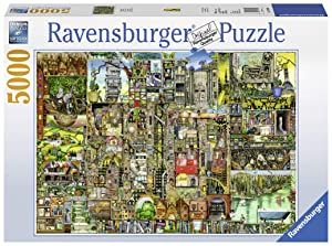 Ravensburger Colin Thompson: Bizarre Town 5000 Piece Jigsaw Puzzle for Adults – Softclick Technology Means Pieces Fit Together Perfectly
